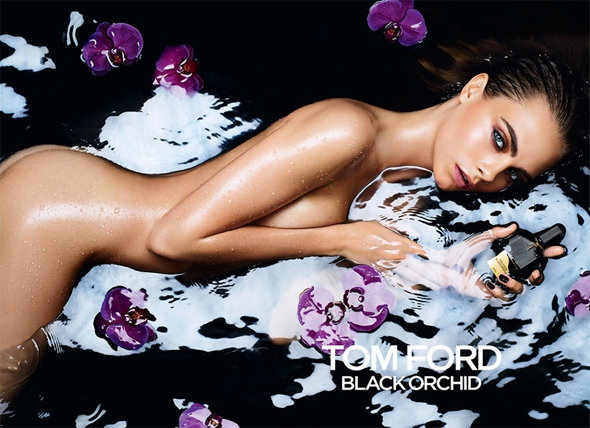 Кара Делевинь - Tom Ford Black Orchid Fragrance