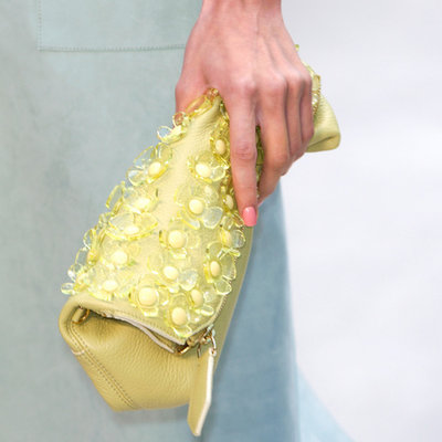 Burberry 'The Petal' Clutch
