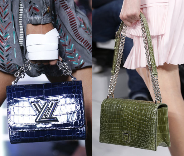 Louis Vuitton, Christian Dior