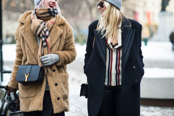 Street Style Стокгольм fashion week